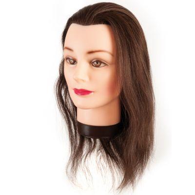 Eurostil Mannequin Natural Hair 35-40 CM 00624