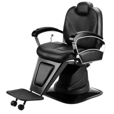 Eurostil Καρέκλα Υδραυλική Κομμωτηρίου Barber Black 03628