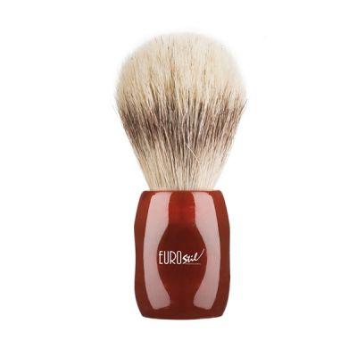 Eurostil Shaving Brush Horse Hair Red 24mm