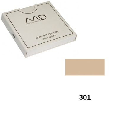 MD Professionnel Compact Powder Click System 301 Refill 12gr