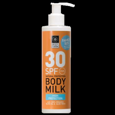 Bodyfarm Body Milk SPF30 250ml