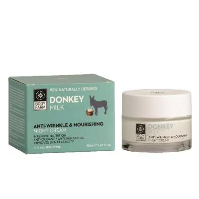 Bodyfarm Donkey Milk Anti-Wrinkle & Nourishing Night Cream 50ml