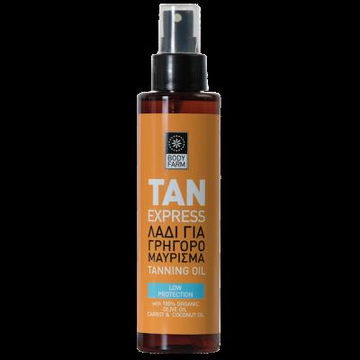 Bodyfarm Tan Express Oil 150ml