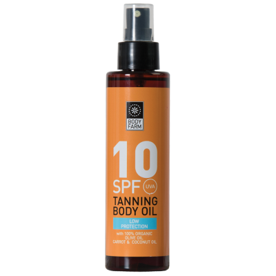 Bodyfarm Tanning Body Oil SPF10 150ml
