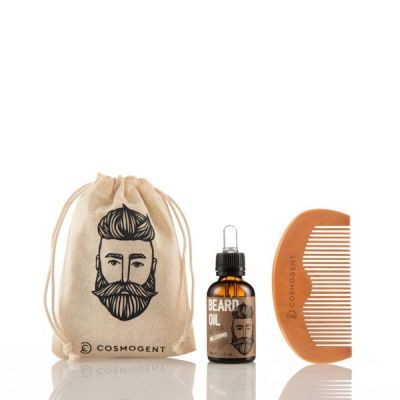 Cosmogent Mr. Cosmo Beard Oil 30ml & Beard/Hair Comb