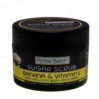 Donna Valente Banana Miracle Sugar Exfoliator 600gr