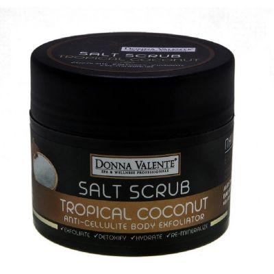 Donna Valente Tropical Dream Body Sea Salt Exfoliator 600gr