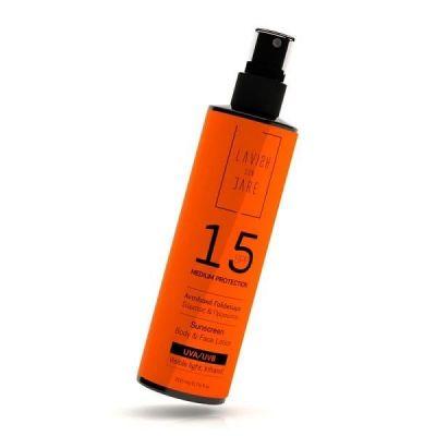 Lavish Care Sunscreen Body & Face Lotion SPF15 200ml