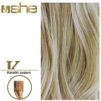 She Hair Extension (So.Cap) HEX8000L/Natural 55-60cm -No 60 10τμχ