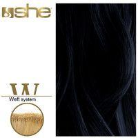 SHE Weft Long Hair WLH8501L/Natural 55-60cm-No 1B