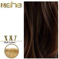 SHE Weft Long Hair WLH8501L/Natural 55-60cm-No 4