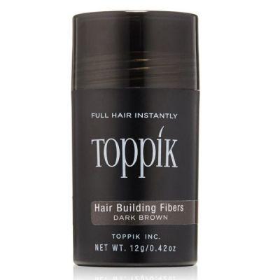 Toppik Hair Building Fibers Καστανό Σκούρο/Dark Brown 12g/0.42oz