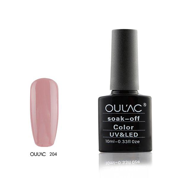204-Oulac soak off UV-LED 10ml