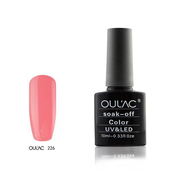 226-Oulac soak off UV-LED 10ml
