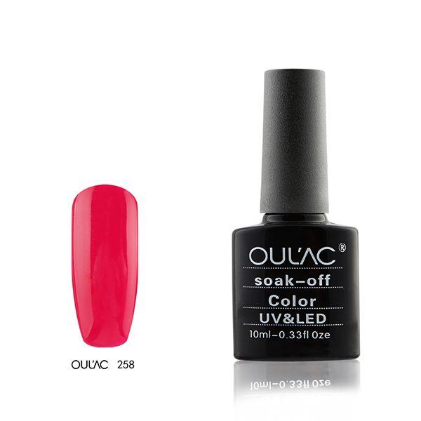 258-Oulac soak off UV-LED 10ml
