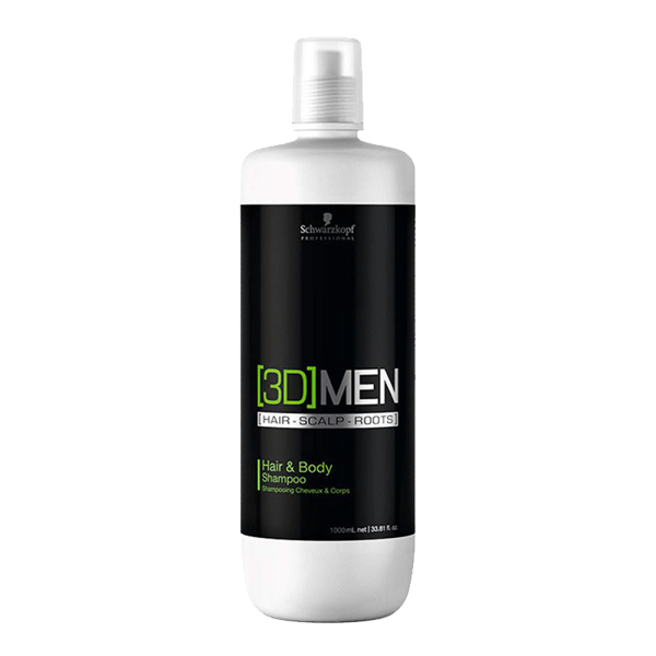 Schwarzkopf 3D Mension Hair Body Shampoo 1000ml