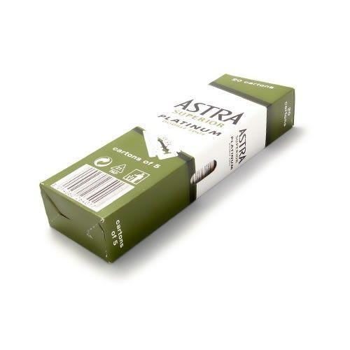 Astra Superior Platinum - Συσκευασία με 100 ξυραφάκια
