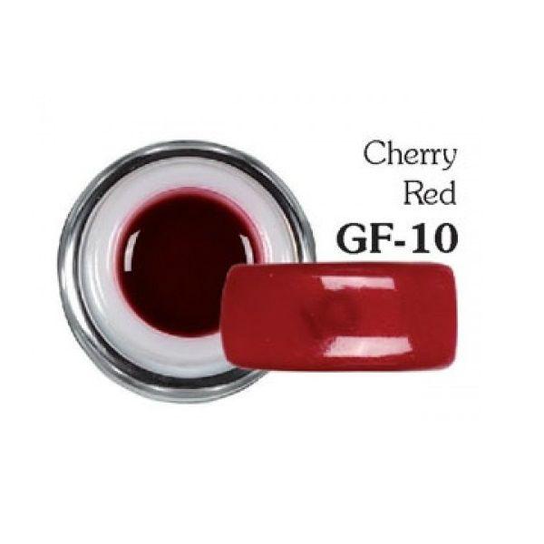Sergio Color Gel Cherry Red GF-10 5g