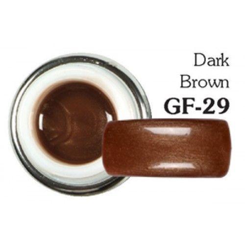 Sergio Color Gel Dark Brown GF-29 5g