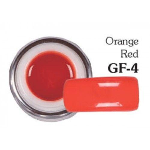 Sergio Color Gel Orange Red GF-4 5g