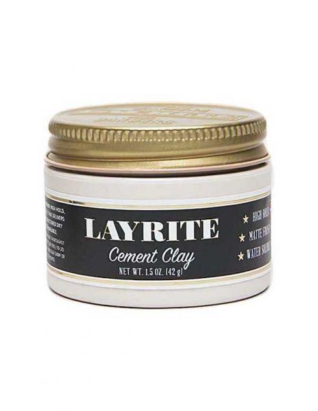 Layrite Cement High Hold Matte Hair Clay 42gr