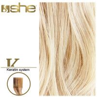 She Hair Extension (So.Cap) HEX8000L/Natural 55-60cm -No 1000 10τμχ εξτενσιον μαλλια