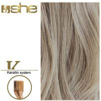 She Hair Extension (So.Cap) HEX8000L/Natural 55-60cm -No 516 10τμχ extensions μαλλιών