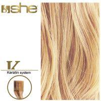 She Hair Extension (So.Cap) HEX8000L/Natural 55-60cm -No DB2 10τμχ εξτενσιον μαλλιων