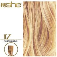 She Hair Extension (So.Cap) HEX8000L/Natural 55-60cm -No DB3 10τμχ extensions μαλλιων