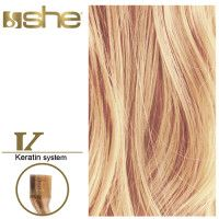 She Hair Extension (So.Cap) HEX8000L/Natural 55-60cm -No DB4 10τμχ extensions μαλλιών
